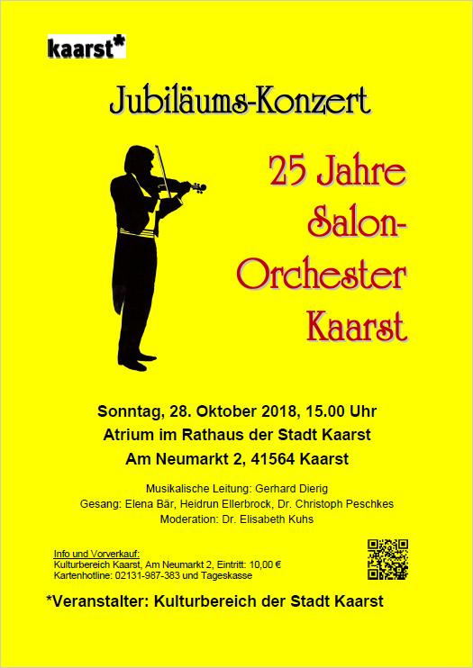 Jubiläums-Konzert Salonorchester Kaarst